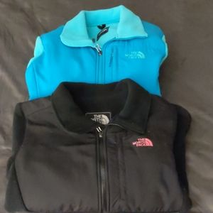 Two women's north face denalis